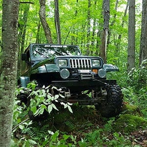 penns woods jeep trips